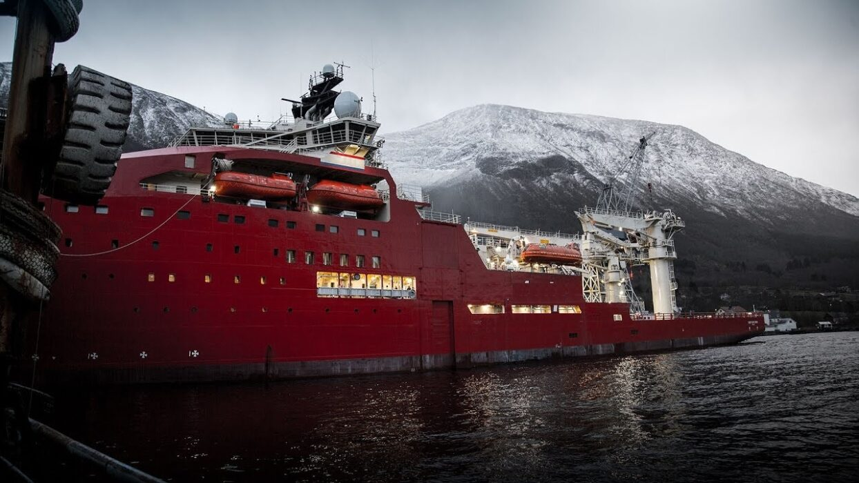 Offshore fleet Master for DSV DP2 400£ p/d