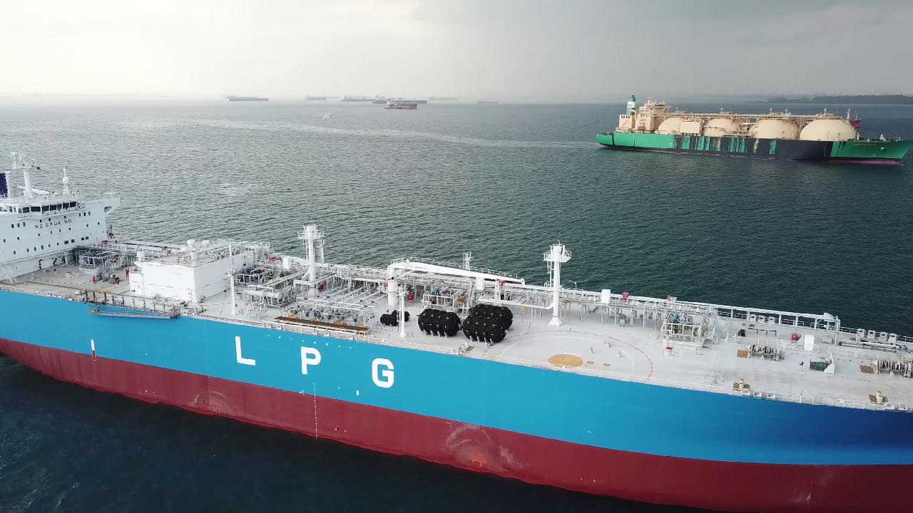 Merchant fleet Master for VLGC 430 EUR p/m